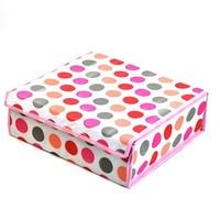 Hot-selling Storage Boxes 20 grid Foldable non-woven fabric Underwear Bra Socks Tie Storage Organizer Divider Box Case