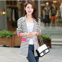 striped cardigans 2014 women fashion tricotado women sweater crochet coat knitted cardigan feminino for women blouse