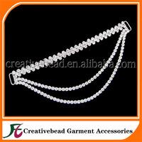 2014 hanging crystal rhinestone bikini connectors wholesale