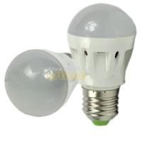 E27 Base 3W 220V High Power Lamp LED Energy Saving Light Pure White  free shipping