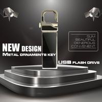 Free shipping V285W Pen drive 8GB 512GB 128GB 64GB metal Key Chain Clip style USB flash drive 2.0 Pen memory U disk
