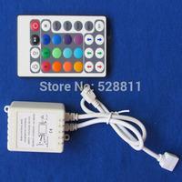 10 set / lot Free shipping 24-keys IR remote controller 12v/24v for smd 3528 or 5050  led strips light