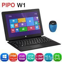 "Original PIPO W1 with 10.1"" screen Intel Bay trail-T Z3740D Quad Core 1.8GHz Windows 8.1 2GB RAM 64GB ROM work 3G WCDMA HDMI"
