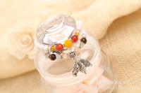 Opal Crystal Beaded bracelet. The owl and the Beas shell pattern bracelet, fashion 4 layer bracelet.