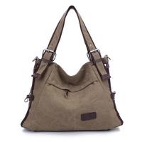 2014 Autumn New arrival Bolsa Franja Feminina Women's Canvas Handbags Designers Fashion Large Shoulder school shopping Bag