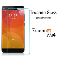Premium Tempered Glass Screen Protector For Xiaomi Mi4 M4 Explosion-proof Screen Protective Film 2014 New