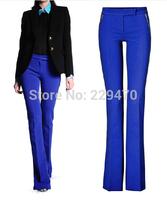 High waist Brand TOP Quality Women Fashion trousers Disco wide leg pants Calca Flare calcas femininas 2014 pantalones