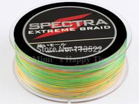 Wholesale 0.55mm 109 Yard PE Dyneema Braided Fishing Line 100M 100LB Multicolor Spectra Braid fishing line FREE SHIPPING