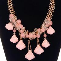 OU3370 Chunky Plexiglass Imitation 2014 Lady's Necklace Set,Accessory,Trending Hot Products,Fashion Jewelry,China Supplier