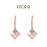 ROXI 2014 Earrings For Women gold Earring Fashion Crystal Brincos Jewelry Gift 390 Free Shipping