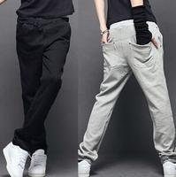 M-3XL Wholesale 2014 Brand Man Pants Cotton Panties Men's Sports Pants Men Trousers Sweatpants Couples Leisure Harem pants AX786