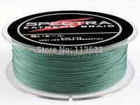 Green 100M PE Dyneema Braided Fishing Line 50LB 0.36mm Spectra fishing line free shipping