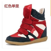 2014 HOT  Isabel Marant Suede Sneakers  women's  Leather boots Free Shipping