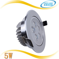 CADELANG Brand High Quality 5w 110mm Led Recessed Light Cabinet Lamp Free shipping 3 years warranty