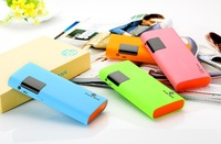High Quality Intelligent LCD 13000mAh high capacity Mobile Phone Portable power bank External Backup Battery Pack Charger