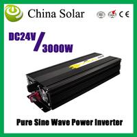 3000W Power Inverter,Pure Sine Wave Power inverter Input DC24V , Output 220V, Electrical  Appliances
