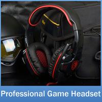 SADES SA901 Brand Gaming Headphone Headset For Computer Gamer USB Plug 7.1 Surround Stereo Deep Bass Earphone With Mic