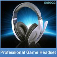 SADES SA902C Brand Gaming Headphone Headset For Computer Laptop Gamer 3.5mm Plug+USB Power Stereo Bass Earphone With Mic