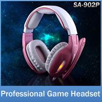 SADES SA902P Brand Gaming Headphone Headset For Computer PC Gamer USB Plug 7.1 Surround Stereo Bass Earphone With Mic