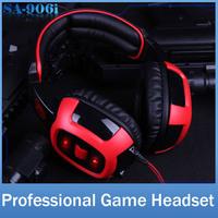 SADES SA906i Brand Gaming Headphone Headset For Computer PC Gamer USB Plug 7.1 Surround Stereo Bass Earphone With Mic