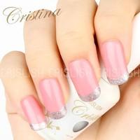 Uv Gel Gift for You DIY Set 10 Crislish 2014 Nail Polish Nail Beauty Nail Gel Polish Set Cristina UV Gel Polish 15ml Free Ship