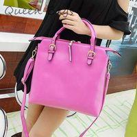 HOT! 2014 New arrival Ladies High quality messenger Bag PU leather soild Handbag Famous brand candy color Shoulder Bag Bag S4694