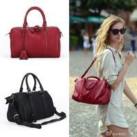 Women's Handbag Famous Brand Leather Boston Bucket Shoulder Bag Women Cross-body Messenger Travel Bag Bolsas Femininas