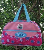 Wholesale frozen cartoon pattern canvas girl shoulder bag women handbags female messenger bags 45*27*17cm,HR140816-4