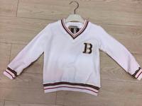 Retail  Brand  2014  New  fashion  spring/autumn  children's  shirt  V-Neck  long  sleeve  letter  pattern  boy's  T-shirt