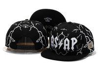 2014 new fashion black/white asap adjustable baseball snapback hats and caps for men/women sports hip hop mens/womens sun cap