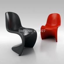 Panton chair ABS plastic bar chair living room furniture leisure chair counter stool PC-001 (China (Mainland))