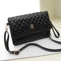 Fashion dimond 2014 plaid vintage bag small  fashion shoulder bag  for females,high quality