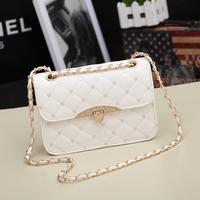 2014 vintage plaid chain bag small bags women's handbag messenger bag bags