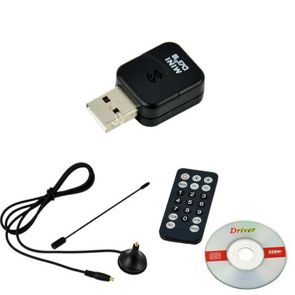 Mini Digital USB 2.0 DVB-T HDTV TV Tuner Recorder&Receiver Free Shipping 8538(China (Mainland))