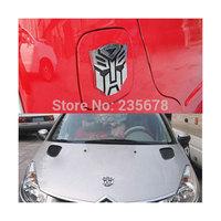 3D Car Sticker Metal Transformers AUTOBOT Optimus Prime Decal Sticker Car Emblem Logo one