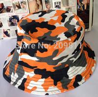 cotton print men camo fishing hat outdoor hip hop women bucket cap