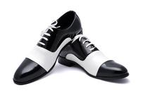 new 2013 Men's genuine leather shoes flats Oxfords Shoes men Large Size 38-44 brand Business Dress Shoes