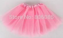 Baby Girl Kids Toddlers Children Fluffy Tutu Pettiskirt Skirt Dancewear Ballet Clothes Outfit(China (Mainland))