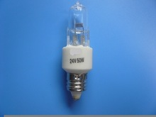 250pieces-Ceramic base 24V 50W E11 Halogen bulb for operating shadowless light-Free shipping(China (Mainland))