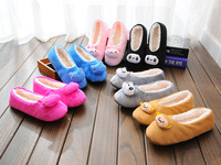 Free Shipping 2014 New Winter Couples Cotton Slippers  Indoor Slippers, Winter New Cartoon Slippers  Mail Lovely Men and Women
