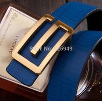 Genuine Leather Brands G Belts for men 2014 New Designer Belts for Women jeans , Famous brands Casual Men Belts Brands