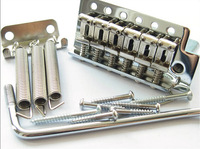 Special wholesale electric guitar bridge ST SQ silver single roll electric guitar tremolo bridge system 1set