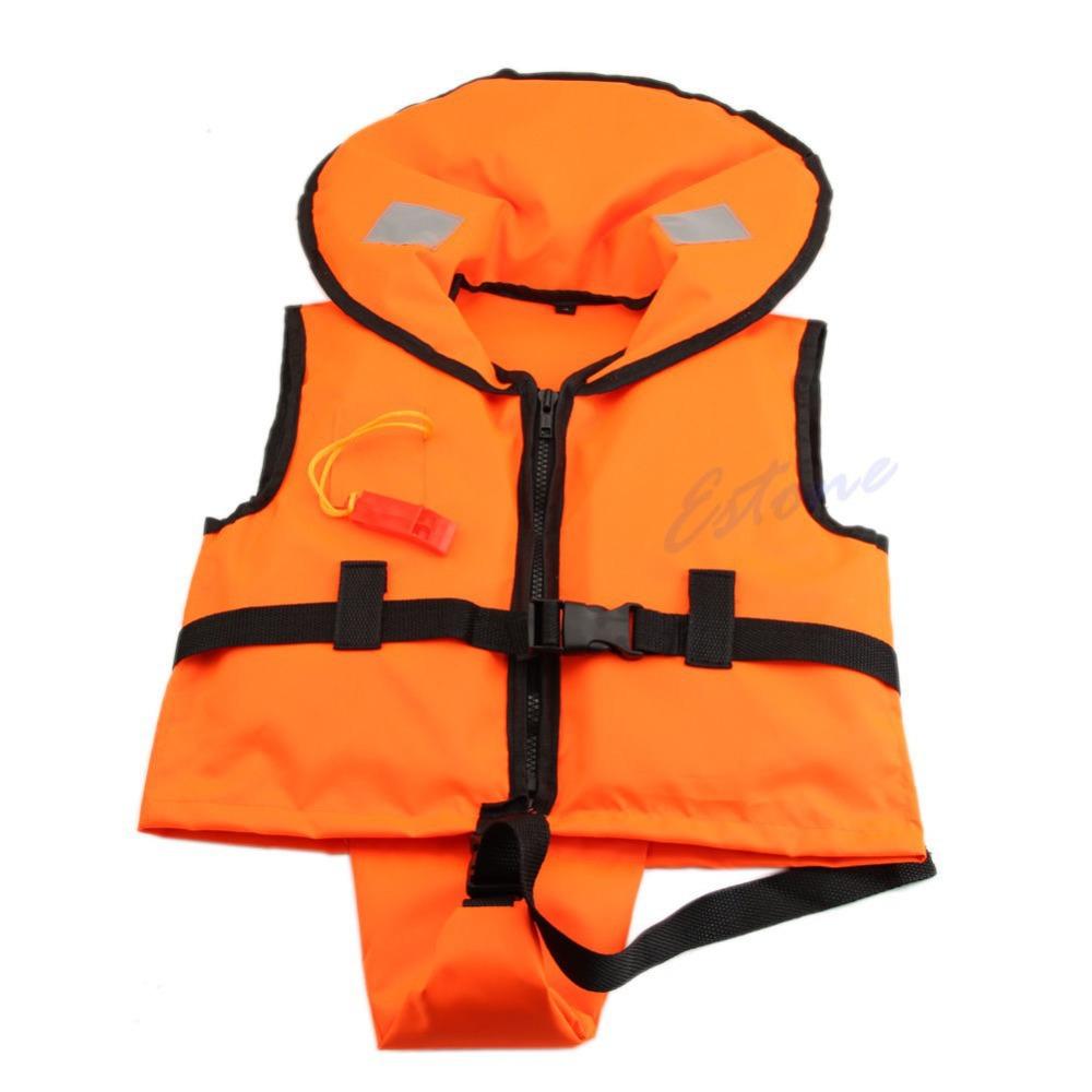 Free Shipping Children Kids Swimming Foam Flotation Life Jacket Vest Whistle Boy Girl Boating(China (Mainland))