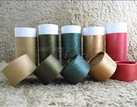Spot 50ml round tin box carton packaging,material carton oil bottle,pink paper tube,free shipping