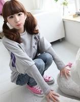 Autumn new Korean long paragraph sweater jacket blouses 2014 Spring European and American original single ladies sportswear