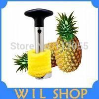 Hot Sale!! Stainless steel Pineapple Corer Peeler Cutter,Multifunctional Easy Slicer Pineapple Corer Fruit Peeler