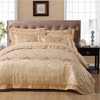 stain silk jacquard bedding set 4pcs king/queen,duvet cover/comforter set/bed cover/bedspread/bedlinen/bedclothes/blanket/sheets
