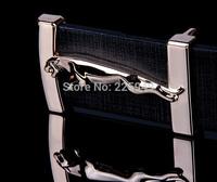 Men Leather jagura Belt , New 2014 Fashion mens belts luxury , Designer Casual High quality belts for men