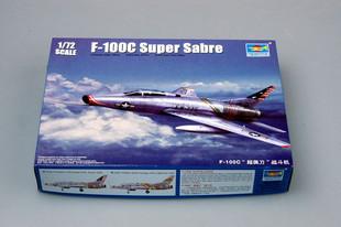 Trumpeter model 01648 1/72 F-100C Super Sabre(China (Mainland))
