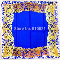 90x90cm pure silk paris vintage winter scarves 2014 muslim hijab men foulard free shipping